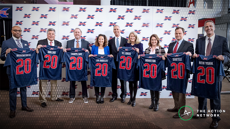 Rovell: XFL Non-Committal on Future Sports Betting Integrations article feature image