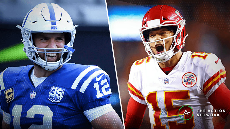 Colts-Chiefs Betting Odds: Indy Drawing Majority Support in Saturday's AFC Divisional Game article feature image