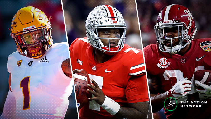 Freedman's Way-Too-Early 2019 Rookie Dynasty Fantasy Football Rankings (Updated: Feb. 3) article feature image