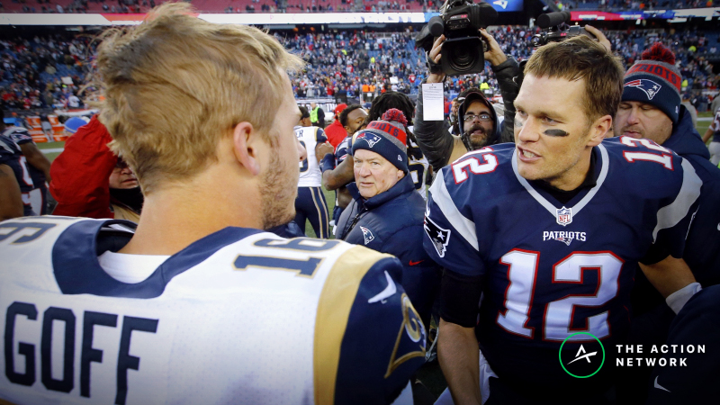 Super Bowl 53 Schedule, Odds, Coverage: New England Patriots vs. Los Angeles Rams article feature image