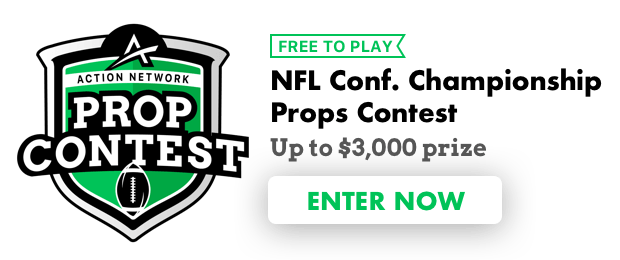 Action Network's Free Props Contest Picks for the NFL