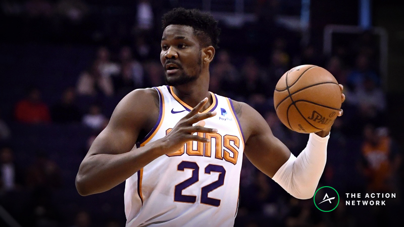 Saturday's Best NBA Player Props: Betting DeAndre Ayton Rebounds, More article feature image