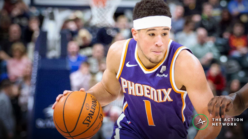 Freedman's Favorite NBA Player Prop (Apr. 1): How Many Assists Will Devin Booker Get? article feature image