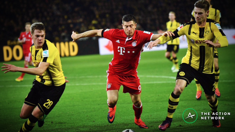 Germany Bundesliga Week 27 Betting Preview: Bayern Munich and Dortmund in Epic Title Race article feature image