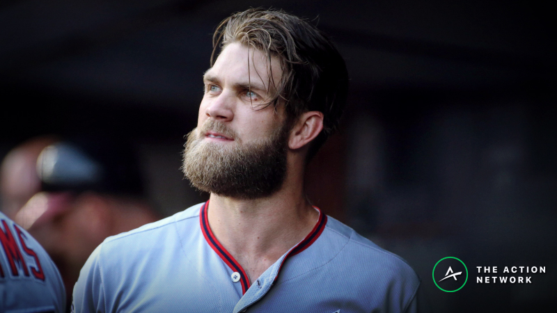 Oddsmakers Were Prepared for Phillies to Sign Bryce Harper article feature image