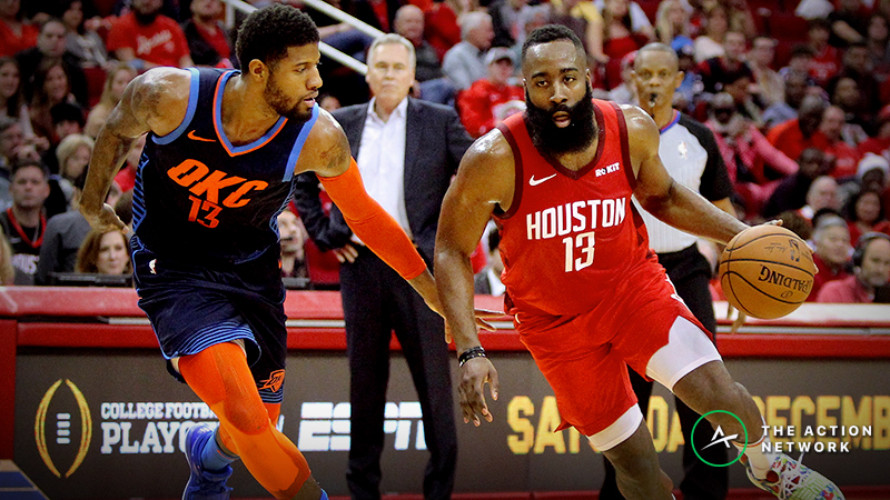 Paul George on James Harden for NBA MVP: 'He Does Whatever It Takes' article feature image