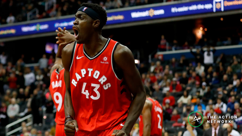 Raybon's Favorite Raptors-Knicks Props: Will Pascal Siakam Grab 7 Boards? article feature image