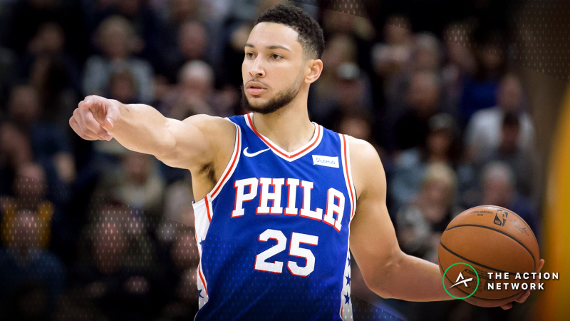 Saturday's Best NBA Player Props: Betting Ben Simmons Assists, More article feature image