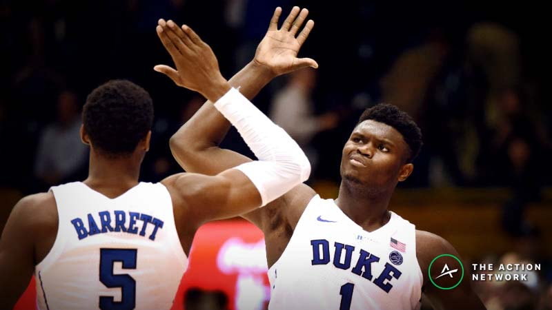 Duke vs. Virginia Tech Betting Odds: Tracking Spread Moves Until NCAA Tournament Tip article feature image