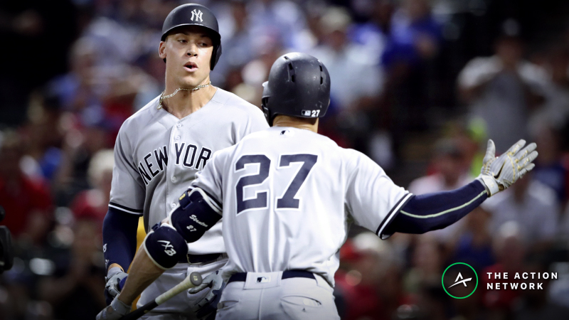 2019 MLB Home Run Odds: Giancarlo Stanton, Aaron Judge Top the List article feature image