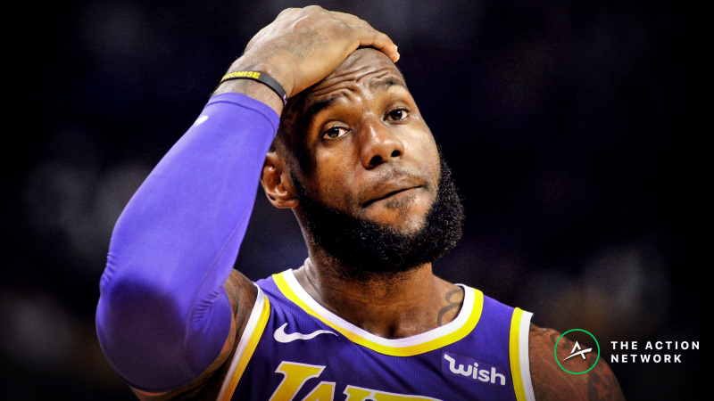 Lakers 2019 NBA Playoffs Odds: LeBron and Crew Are Nearly Out After Clippers Loss article feature image