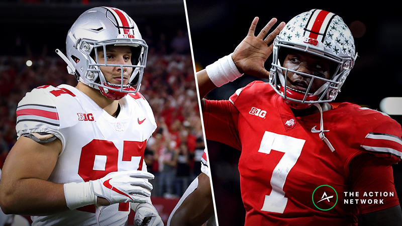 Our Experts' Favorite NFL Combine Prop Bets: Nick Bosa's Bench Press, Dwayne Haskins' 40 Time, More article feature image