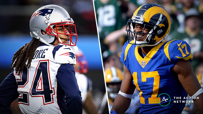 Raybon: How to Bet Rams Receiving Props Based on Patriots' Gameplan article feature image