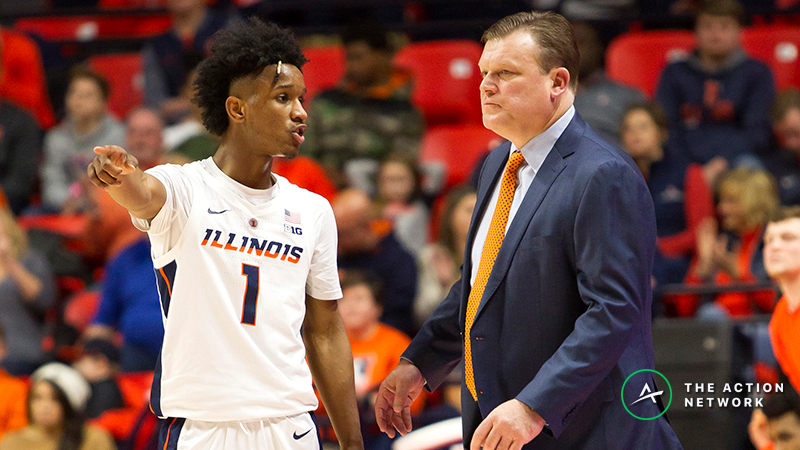 Thursday's College Basketball Betting Previews: Indiana-Illinois, Valparaiso-Indiana State article feature image