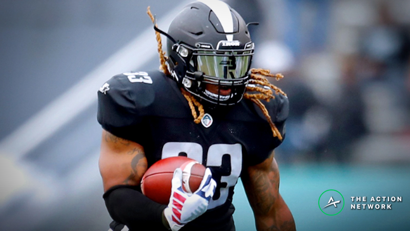 AAF Fantasy Football Rankings for Week 7 article feature image