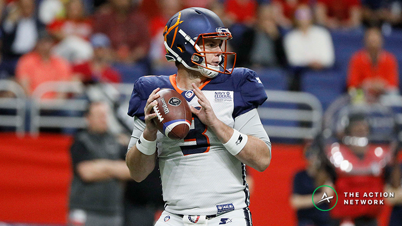 AAF Week 5 Cheat Sheet: Betting, Fantasy Football, More article feature image
