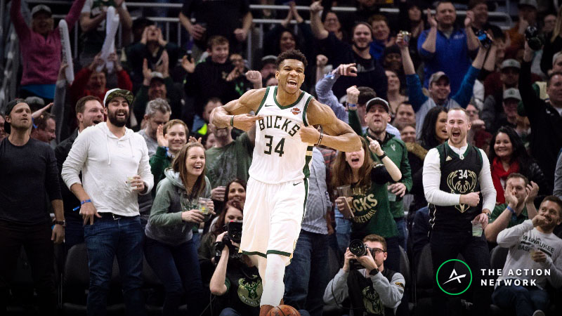 NBA Title Futures: Is There Value Betting the Bucks, Raptors or 76ers? article feature image