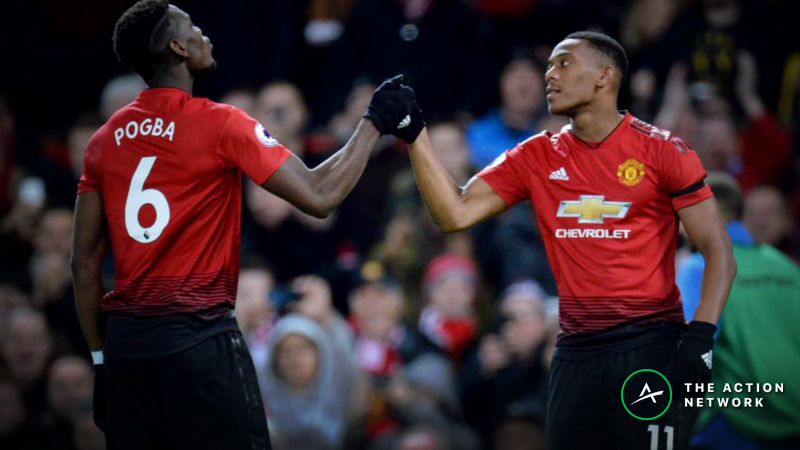 Manchester United-Barcelona Betting Odds: Sharp Money Hits Champions League Quarterfinal article feature image
