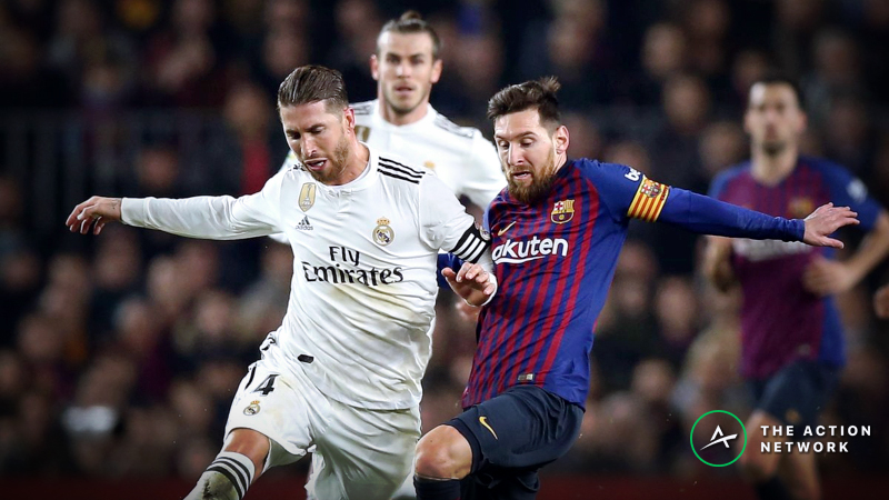 European Soccer Odds and Previews, March 1-3: Bettors are Taking a Side for El Clasico article feature image