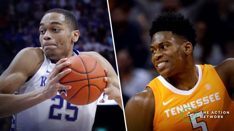 Kentucky-Tennessee Betting Guide: Can Wildcats Survive Without Reid Travis? article feature image