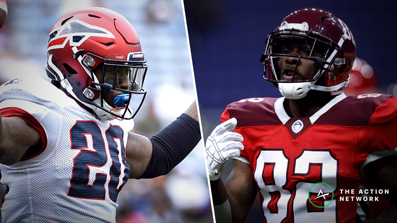 AAF Fantasy Football Rankings for Week 6 article feature image