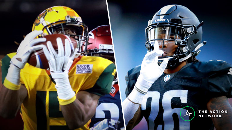 AAF Week 7 Cheat Sheet: Betting, Fantasy Football, More article feature image