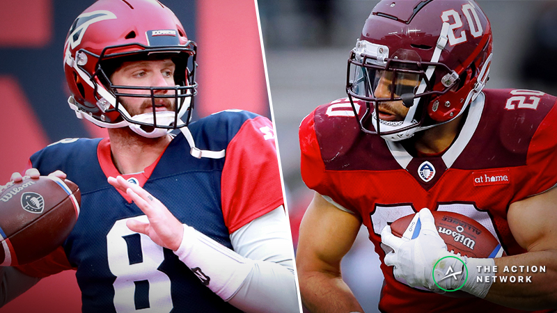 Your Ultimate Week 6 AAF Betting Guide: Picks, Analysis, More For All 4 Games article feature image