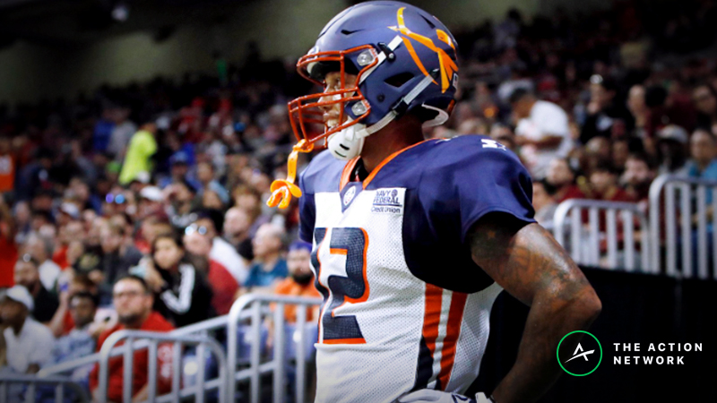 AAF Week 4 Cheat Sheet: Betting, Fantasy Football, More article feature image