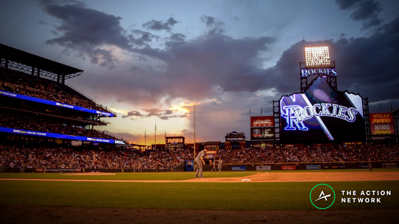 MLB Thursday Forecast: Coors Field Doesn't Care About Weather article feature image