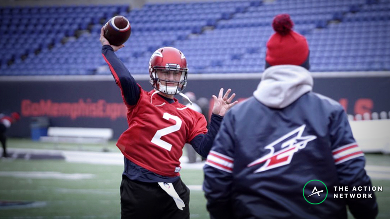 Koerner's AAF Power Ratings: Ride with Manziel If Memphis Opens as a Dog? article feature image
