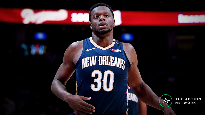 Raybon's Favorite NBA Props for Tuesday: Will Julius Randle Grab 11 Rebounds? article feature image