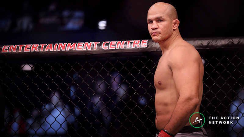 UFC Fight Night 146 Betting Odds: Junior dos Santos a Heavy Favorite Over Derrick Lewis article feature image