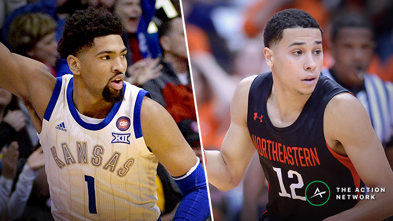 Kansas vs. Northeastern Betting Guide: Are Jayhawks Ripe for 2019 NCAA Tournament Upset? article feature image