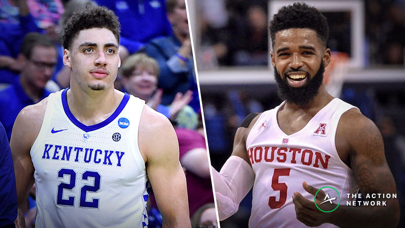 Kentucky vs. Houston Betting Guide: PJ Washington's Injury Clouding NCAA Tournament Game article feature image
