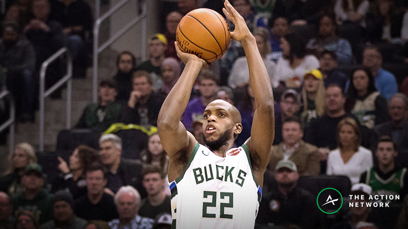 Freedman's Arbitrage Player Prop Plays for Friday: Khris Middleton's Made 3-Point Shots article feature image