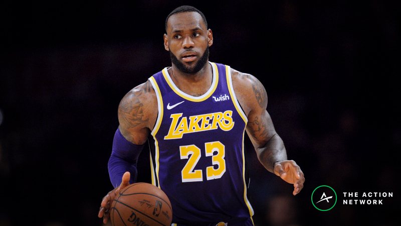 Friday's NBA Injury Report: Betting, DFS Impact of LeBron James, Chris Paul Absences article feature image