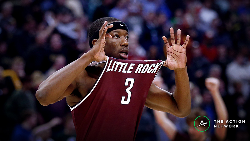 Inside the Worst March Madness Beats: Arkansas-Little Rock's 2016 Double OT Upset of Purdue article feature image