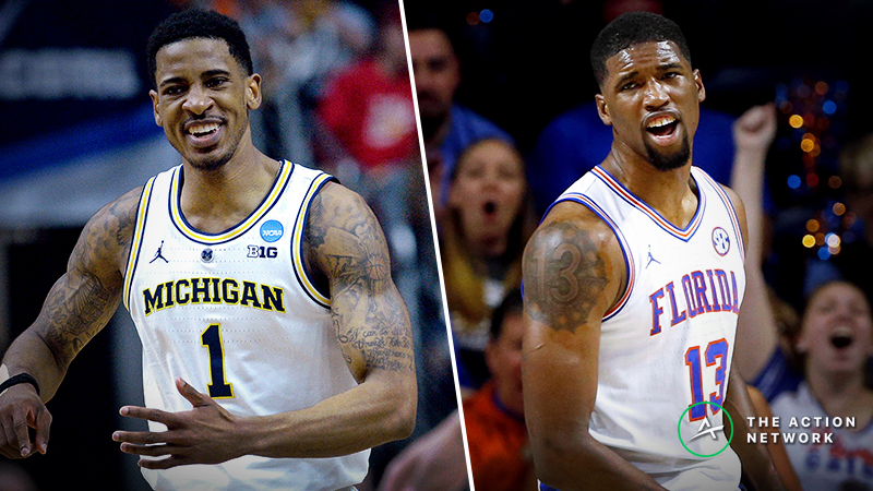 Michigan vs. Florida Betting Guide: Will Gators Expose Wolverines' Interior in NCAA Tournament? article feature image