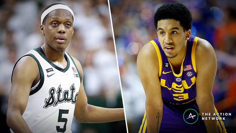Michigan State vs. LSU Betting Guide: How Havoc, Depth Can Decide This NCAA Tournament Matchup article feature image