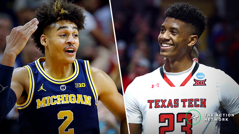 Michigan vs. Texas Tech Betting Guide: Who Scores Enough to Advance in 2019 NCAA Tournament? article feature image