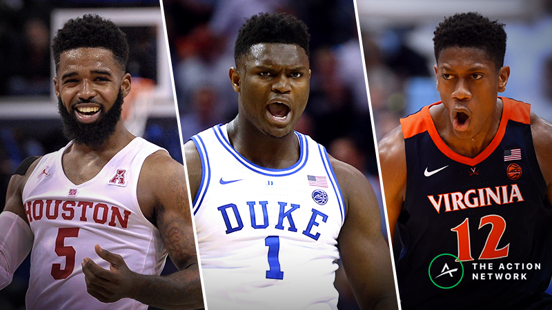 2019 NCAA Tournament Odds: Our Projected Spreads, Over/Unders for Each First-Round Matchup article feature image
