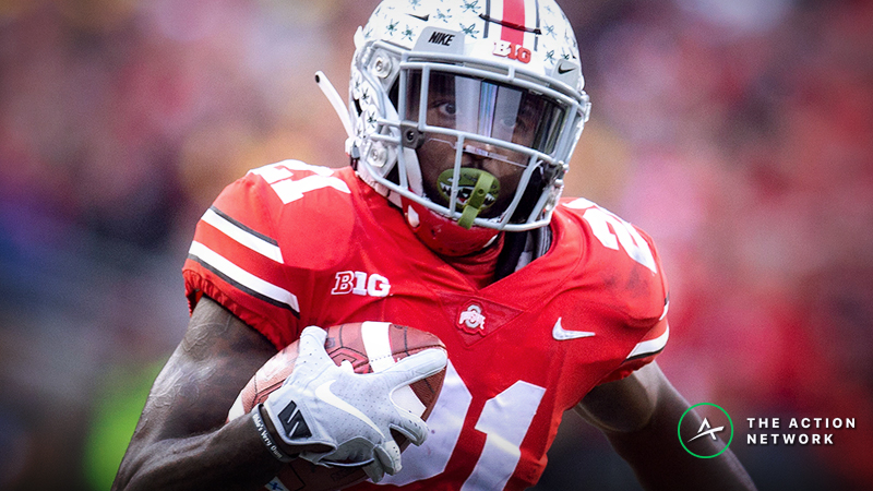 Parris Campbell NFL Combine Prop Bet: Over/Under 4.38 Seconds in the 40-Yard Dash? article feature image
