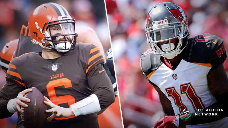 Post-Free Agency NFL Player Props: Picks for Baker Mayfield, DeSean Jackson, More article feature image