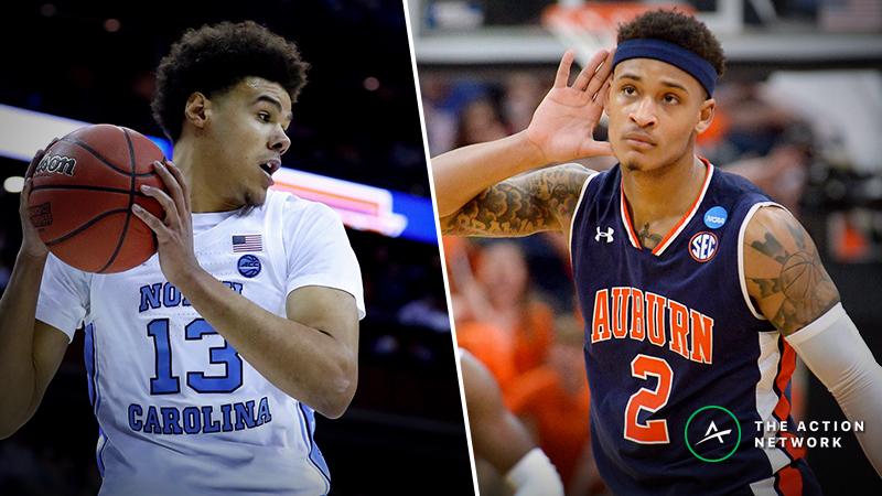 North Carolina vs. Auburn Betting Guide: Bruce Pearl Says Take the Over…So Should You? article feature image