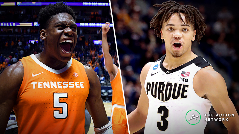 Tennessee vs. Purdue Betting Guide: Will Boilermakers Match Vols' Size in NCAA Tournament Sweet 16? article feature image