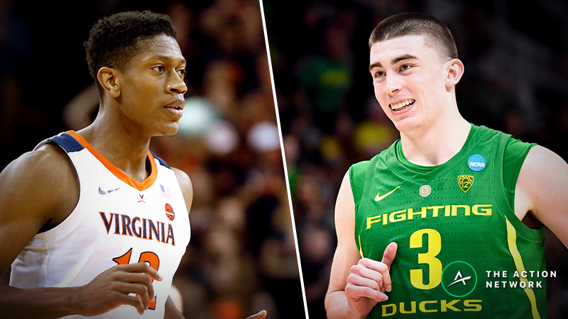 Virginia vs. Oregon Betting Guide: Can Cavaliers Best Ducks' Defense in 2019 NCAA Tournament? article feature image