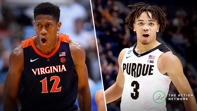 Virginia vs. Purdue Betting Guide: Elite Eight Clash Will Be Decided at Perimeter article feature image