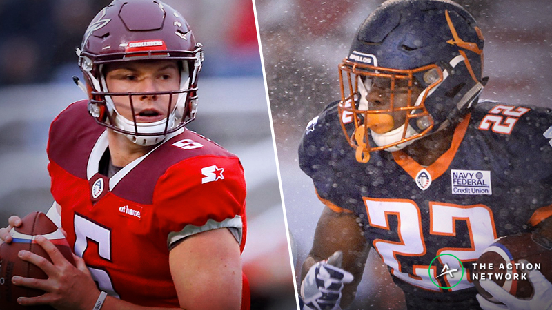 AAF Week 8 Cheat Sheet: Betting, Fantasy Football, More article feature image