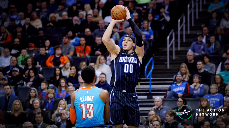 Freedman's Arbitrage Player Prop Plays for Saturday: Aaron Gordon's Made 3-Point Shots article feature image