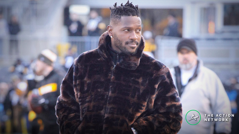 The Fantasy Impact of Antonio Brown's Potential Trade to the Bills article feature image